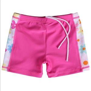 Swim - NWT Girls 2-Piece UPF 50+ Swim Suit 5-6Y